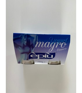 Yogurt Bianco Magro 2X125...